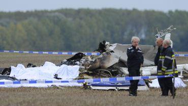 Crash d'avion à Gelbressée:
