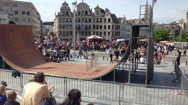 Fête de l'Iris, un 26ème anniversaire de la Région, dignement fêté par les Bruxellois