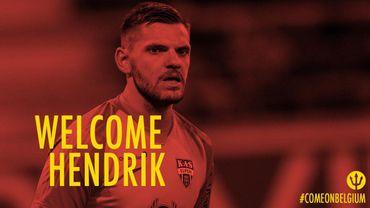 Le compte officiel des Diables a souhaité la bienvenue à Hendrik Van Crombrugge