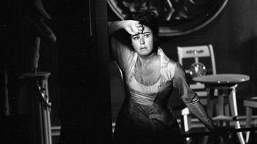 """Lisa Della Casa jouant Lucile dans la """"Mort de Danton, de Buechner"""