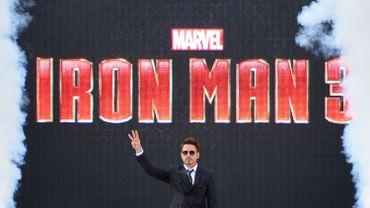"""Iron Man, interprété par Robert Downey Jr, a fait l'objet de trois longs métrages """"Iron Man"""" et un """"Avengers"""""""