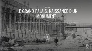 """L'exposition """"Le Grand Palais, naissance d'un monument"""", sur l'Institut culturel de Google"""