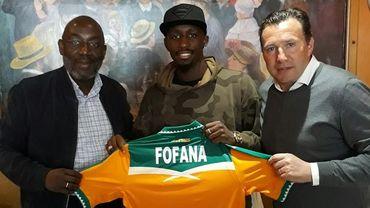 Seko Fofana et Marc Wilmots