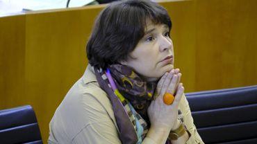 Cécile Jodogne était absente le 11 juin, jour de prestation de serment.
