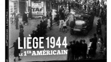 """La libération est racontée au fil de diverses anecdotes et photos par l'écrivain liégeois Bernard Gheur dans un livre intitulé """"Liège 1944, le 1er américain""""."""