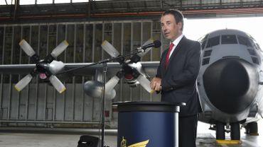 Le futur hangar pour avions A400M de la Défense sort de terre à Melsbroek