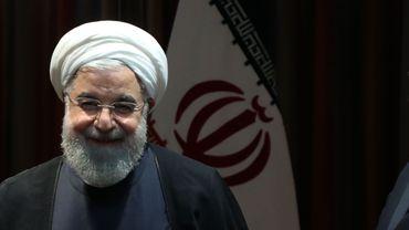 """Iran: le président Rohani se dit """"très heureux"""" du départ de Donald Trump, ce """"tyran"""""""