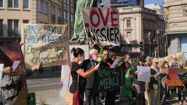 Expulsions de logements à Bruxelles: manifestation contre la fin du moratoire