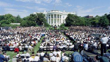 La pelouse de la Maison blanche a été le théâtre de la signature historique des accords d'Oslo. Vingt-cinq ans plus tard, l'espoir a disparu.