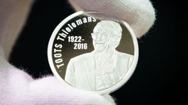 La Monnaie Royale de Belgique frappe une pièce de 20 euros en hommage à Toots Thielemans
