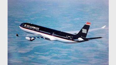 Un Airbus A330-300 aux couleurs de la compagnie Américaine US Airways en vol