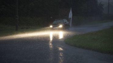 Prudence sous la pluie