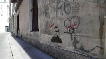 Une oeuvre de Banksy à Paris