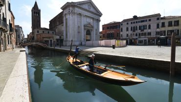 Venise vide, le 18 avril 2020