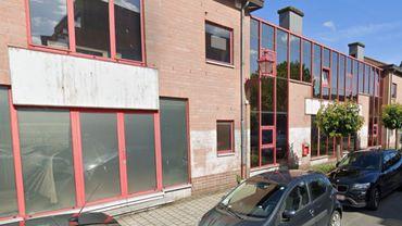 L'ancien bâtiment d'Action Damien à Jette, à nouveau vide d'occupants
