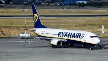Ryanair annule 104 vols au départ et à destination de la Belgique