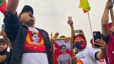 L'administration américaine a déjà imposé des sanctions contre des dirigeants de l'armée birmane, qui a pris le pouvoir le 1er février en arrêtant la dirigeante civile Aung San Suu Kyi.