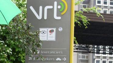 Entrée de la VRT à Reyers