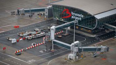 Vue aérienne de Brussels Airport