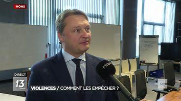"""Gouverneur du Hainaut: """"ce soir, ceux qui approchent Feluy devront justifier de leur présence"""""""