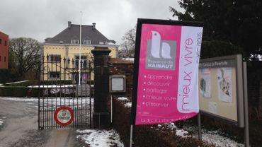 Le domaine de Parentville, à Couillet, accueille désormais une partie des service de la Province de Hainaut.