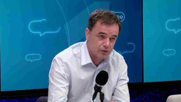Benoît Lutgen, président du cdH