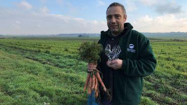 Thomas Legat, ses carottes et son coq de cristal
