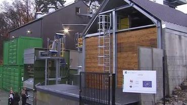 Yvoir : l'hôpital de Mont-Godinne valorise du bois wallon en énergie verte