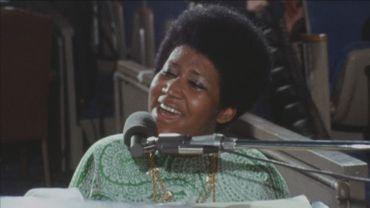 "Aretha Franklin dans ""Amazing Grace"""