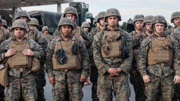 On estime entre 1320 et 15.000 personnes transgenres au sein del'armée américaine sur 1,3 million de militaires en service.