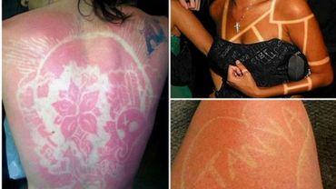 39eed64d779eec Le sunburn art   le tatouage qui brûle la peau