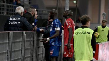 Dijon-Amiens interrompu 5 minutes après des cris racistes, l'auteur présumé interpellé