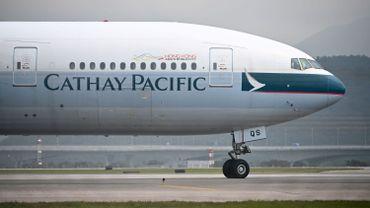 Un avion de Cathay Pacific