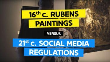 Censure du nu artistique sur Facebook: Toerisme Vlaanderen se moque du réseau social dans une vidéo