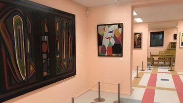 Le nouveau Musée d'Art Abstrait, voisin du Musée René Magritte de Jette