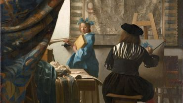The Art of Painting/The Allegory of Painting (c. 1666–68), Johannes Vermeer