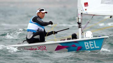 Van Acker en route vers la médaille de bronze