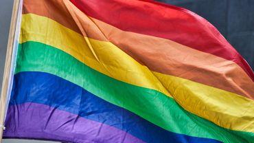 Le rainbow flag, emblème de la communauté LGBT