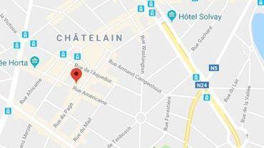 Vers 19h30, un homme armé est entré dans un restaurant situé 84 rue américaine à Ixelles.