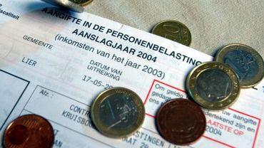 Déclaration fiscale flamande et monnaie