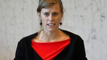 Emily Hoyos, présidente du parlement wallon