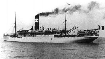 Paquebot Afrique de la compagnie Maritime des chargeurs réunis.