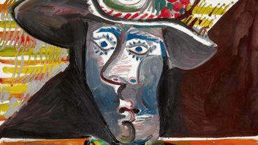 """""""Le Matador"""" de Pablo Picasso, huile sur toile, peinte le 23 octobre 1970"""