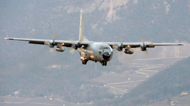 Illustration: un C-130 belge