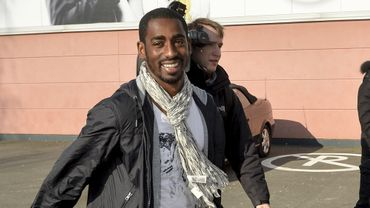 Copa Barry Boubacar tout sourire lors de son retour à Lokeren