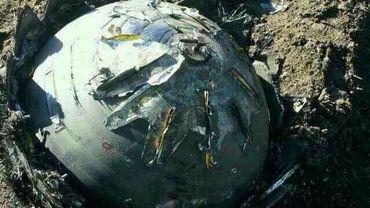 Un des trois objets tombés en Chine