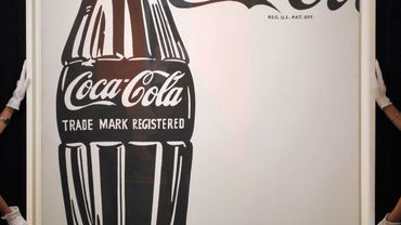 """""""Coca-Cola (4)"""", une oeuvre d'Andy Warhol"""