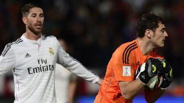 Sergio Ramos et Iker Casillas