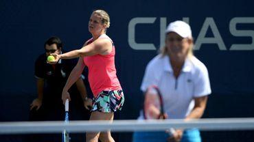 Kim Clijsters et Martina Navratilova