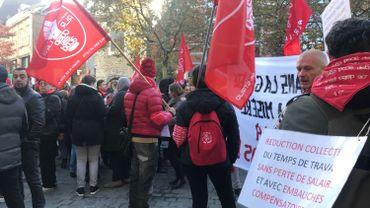 Bruxelles : les travailleurs communaux reçus par Rudi Vervoort